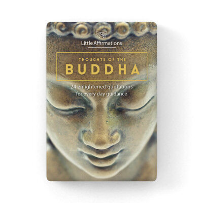 Affirmations Gifts Card Little Affirmations Spiritual-Thoughts of the Buddha