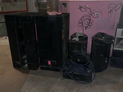 $13,000 Nexo PS15 Club or band Sound System - Please Don't Bid