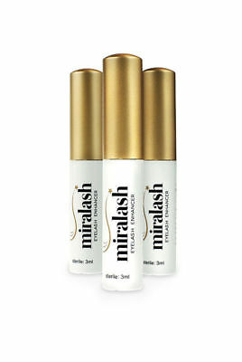 3XMiralash Eyelash Enhancer,Make eyelashes suero de pestañas y crecimiento,3ml