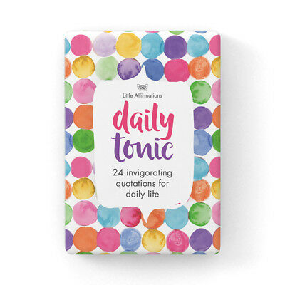 Affirmations  Gifts Card Little Affirmations  Illustrative  - Daily Tonic