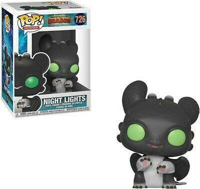 Funko POP How To Train Your Dragon Hidden World Night Lights Allison #726 Vinyl