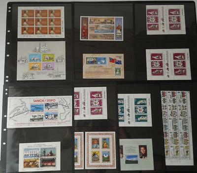 Collection Of British Commonwealth/Samoa  - Mixed Lot Of Mint Miniature Sheets
