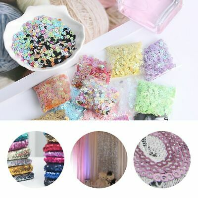 Decor Shiny Embellishment Sewing Paillette Wedding Faceted Bead Loose Sequin