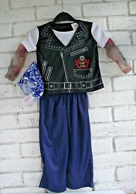 1 - 2 Years Biker Baby Fancy Dress Costume Outfit - Book Day - Brand New + tags