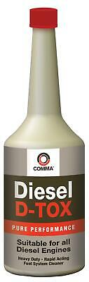 Comma Diesel D-Tox 400ml Heavy Duty Rapid Acting Fuel System Cleaner