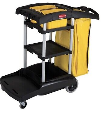 Rubbermaid High Capacity Cart - FG9T7200BLA