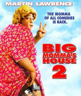 Big Momma's House 2 BLU-RAY NEW