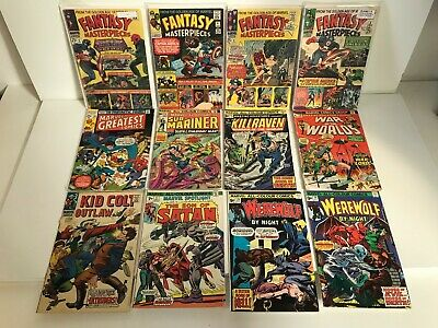 Marvel Silver / Bronze Age Collection x24 (C)
