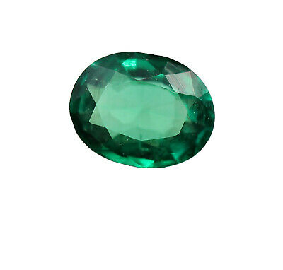 0.30 Ct Natural Emerald Loose Oval Cut Rich Green Color VVS Eye Clean