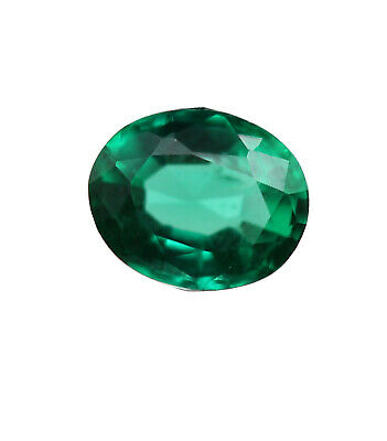0.33 Ct Natural Emerald Loose Oval Cut Zambian No Heat VVS Eye Clean For Ring