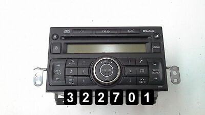 2007 NISSAN NOTE Radio Player Cd 28185 9U10A Pn-3001P on