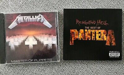Metallica - Master Of Puppets and Panthers - The Best Of X2 Cd