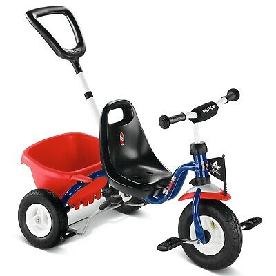 Tricycle CAT 1S bleu et rouge (2+) - Puky 2223