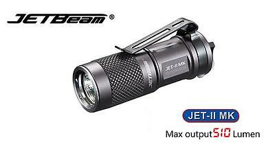 New Jetbeam JET-II MK Cree XP-L HI 510 Lumens LED Flashlight ( CR123A, 16340 )