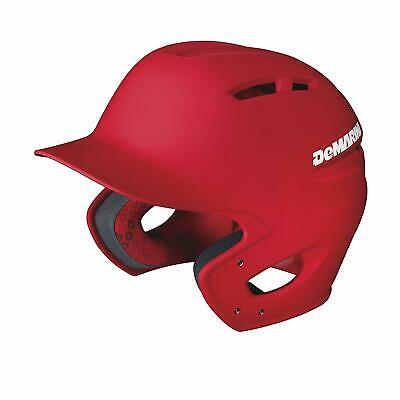 DeMarini Paradox Fitted Pro Red Batting Helmet Small Sizes 6-7/8 to 7 w/Venting
