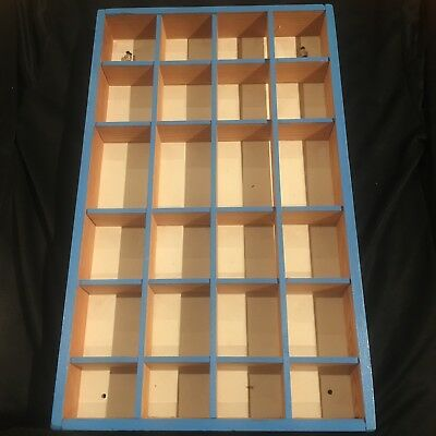 Shadow Box 24 Compartments Ready To Hang