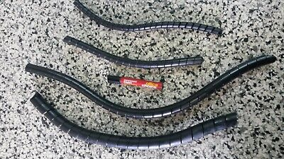 """SPIRAL WRAP HYDRAULIC HOSE PROTECTION 16MM Suits 1/4"""" Hose VARIOUS LENGTHS"""