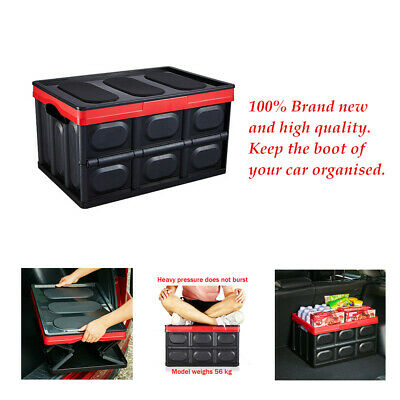 Sturdy and robust construction Car Trunk Auto Move Storage Box Tool Pack