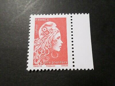 FRANCE, 2018, timbre neuf** MARIANNE ENGAGEE PRIO gommé de CARNET, MNH STAMPS