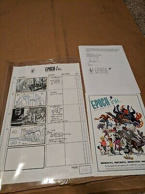 The Art of Do The Evolution Pearl Jam Animation Storyboard Rare McFarlane