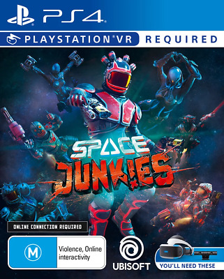 Space Junkies PlayStation VR, PS4 Game NEW
