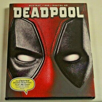 Deadpool Blu-Ray With Slip Cover!!!