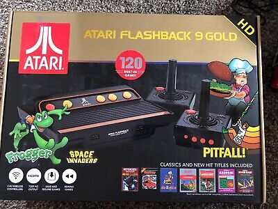 Atari Flashback 9 Gold Classic 720p Game Console w/ 2 Controllers #ATARIFLSHGLD