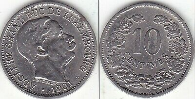 10  centimes  1901
