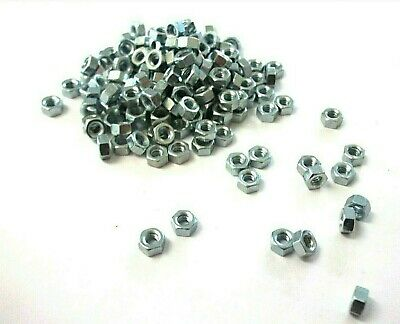 BA Hexagon full nuts. 6BA. Steel. Full nuts. Hex. Pack of 60. *Top Quality!