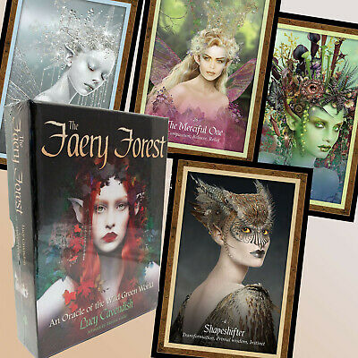 The Faery Forest Fairy Oracle Of The Wild Green World Lucy Cavendish 45 Cards