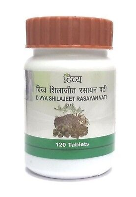 10 x 120 Patanjali Shilajeet Rasayan Vati 1200 Tablets - Men Sexual wellness