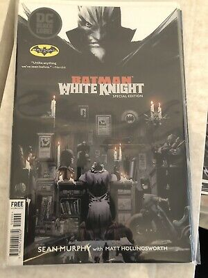 Batman White Knight #1 Batman Day Special Edition Damned Black Label Preview
