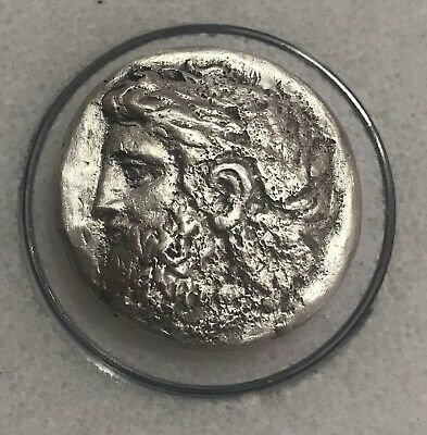 Philip II Father of Alexander the Great (382-336 BC) Silver Tetradrachm 14.4 g!!
