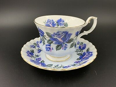 Royal Albert Lakeside Series Ullswater Tea Cup And Saucer Set Bone China England