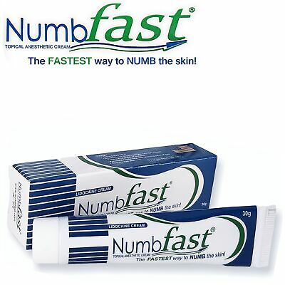 Lidocaine Numbing Cream NUMB FAST Painless Tattooing Piercing Waxing Laser Dr