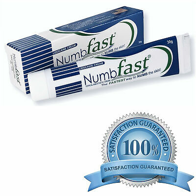 NUMB FAST® Lidocaine Numbing Cream Painless Tattooing Piercing Waxing Laser Dr