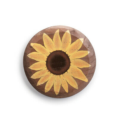 DEMDACO Sunflower Watercolor 4 Inch Resin Stone Table Top Decorative Sign