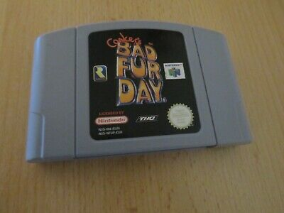 Conker's Bad Fur Day Game Nintendo 64 N64 PAL Cart Only