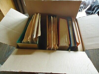 Estate Worldwide Stamp Collection:6 Albums.un/Vatican City/Great Britain/Ships