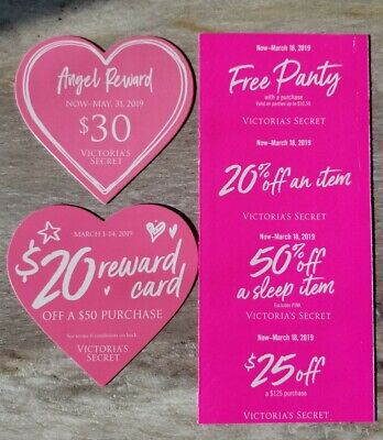 bc38a829c50f VICTORIA'S SECRET COUPONS in-store/online panties 50% off sleep item ...