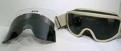 beec113849 ESS Profile NVG Ballistic Goggles Desert Tan With Alternate Lenses TF