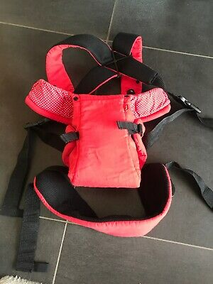 Mothercare Red Baby Carrier / Harness - Hardly Used