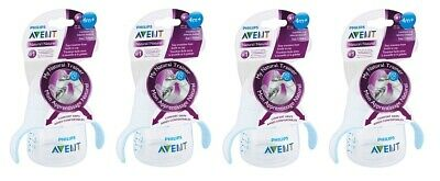 Philips Avent My Natural Trainer Transition Cup 4m+ 5 Oz, Clear SCF262/04 (4 Pk)