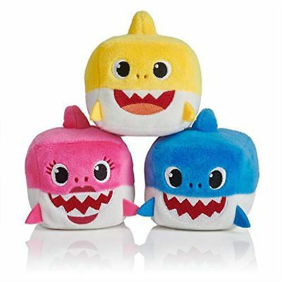 Pinkfong Baby Daddy Mommy Shark Family Singing Cube Sharks ENGLISH Same Day Ship