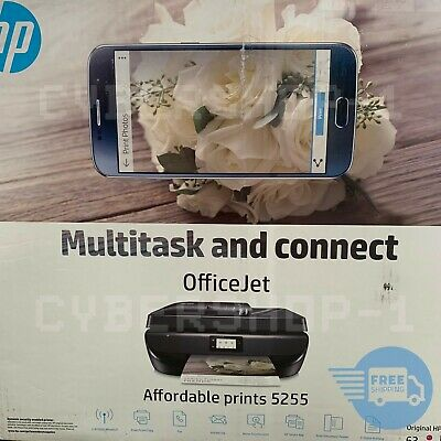 HP OfficeJet 5255 All-in-One Printer with New Ink (M2U75A)