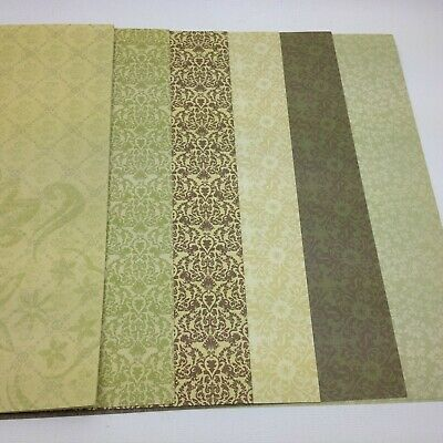 Stampin' Up! 12x12 Double Sided Designer Paper Open Pack of 12 (SP102)