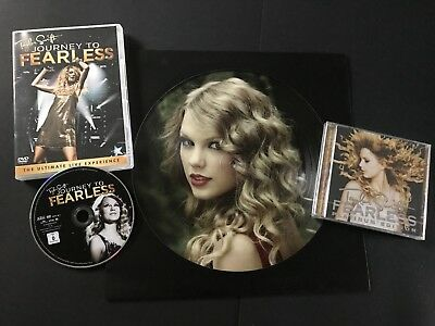 Taylor Swift Pack Collecto 3 Piéces - Picture Disc + Cd/dvd +Dvd Concert