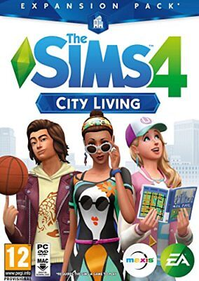 The Sims 4: City Living Expansion Pack (PC DVD) (New) - (Free Postage)