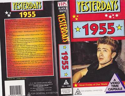 Yesterdays  1955 Vhs Video Pal~ Very  Rare Find~