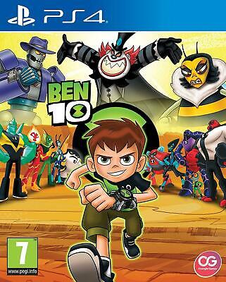 Ben 10 (PS4 PLAYSTATION 4 VIDEO GAME) *NEW/SEALED* 5060528030182, FREE P&P